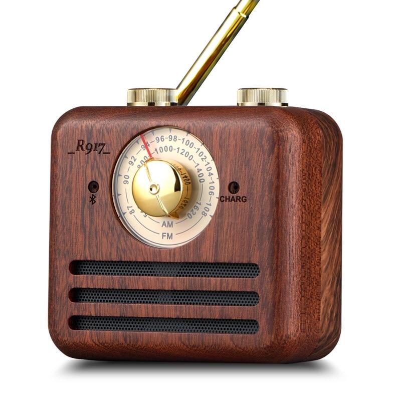 REDAMIGO Wood Digital FM Radio AM mini linternet radio portable fm AM Radio multi-function bluetooth Speaker RADR917+ lutema wavecube aqua portable digital speaker w fm radio green