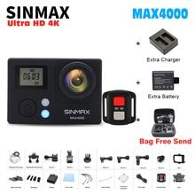 4K 30PFS WIFI Camera MAX4000 4 K WIFI 1080P 2 Inch Action Camera 30m GO Waterproof helmet action dv sports Cam kamera Pro