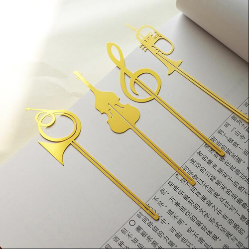 tt-2666 1pc/lot Music Series Bookmarks Novelty Style Stationery Bookmark School Gift Exquisite Craftsmanship;