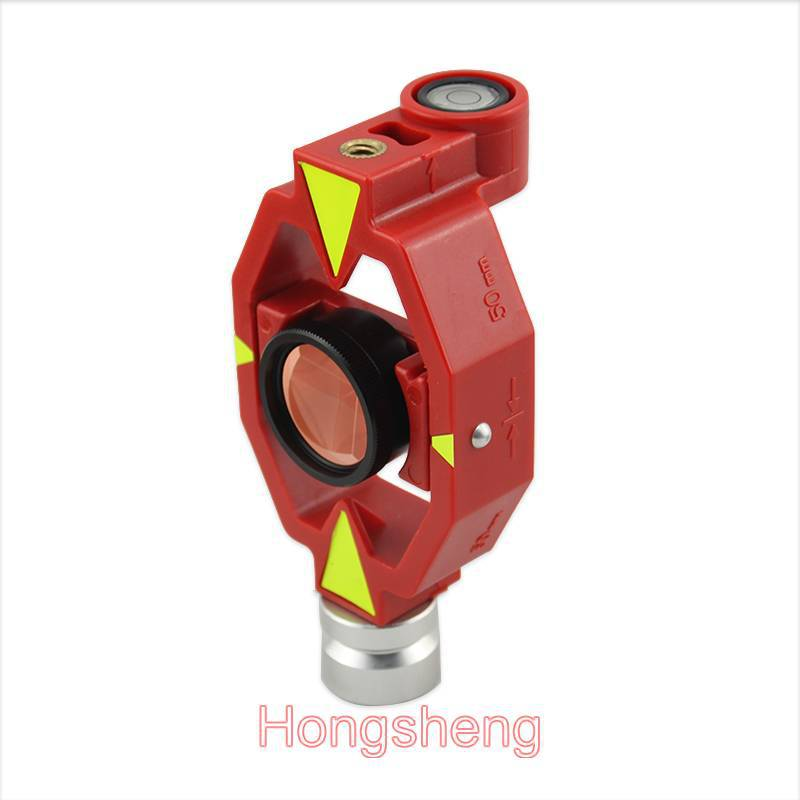 total station prisms MINI little small prism / Contains four rods and connectors micro- prism pole цена