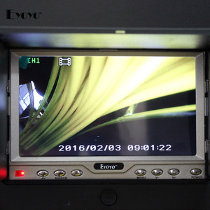 Image 4 - Eyoyo 23mm Hệ Thống Thoát Nước Không Thấm Nước Video Máy Ảnh Ống Cống Kiểm Tra 12 pcs Led Head Máy Ảnh 800TVL Sửa Chữa Thay Thế cho 7D1