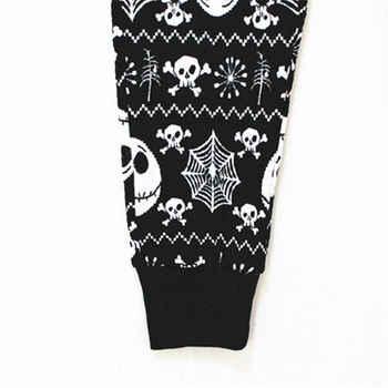 Nightmare Before Christmas Jack Skellington Pajama Sleep Set Top and Pants Pajamas Causal Adlut Suits Cosplay Costumes