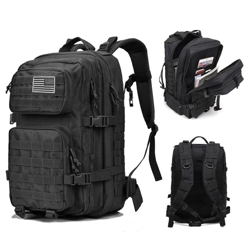 792e8194cd2c Tактический рюкзак военный рюкзак нападение для Мужчин Армия водостойкие  Открытый Большой Сумка Рюкзак П