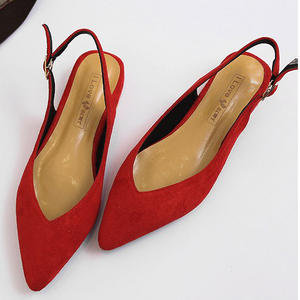 03a74d0a835 MisAB Women Flats Suede Ladies flat Shoes Mules Female Work