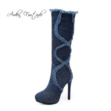 ba3645dc20 High Quality Blue Jean Heels Promotion-Shop for High Quality ...
