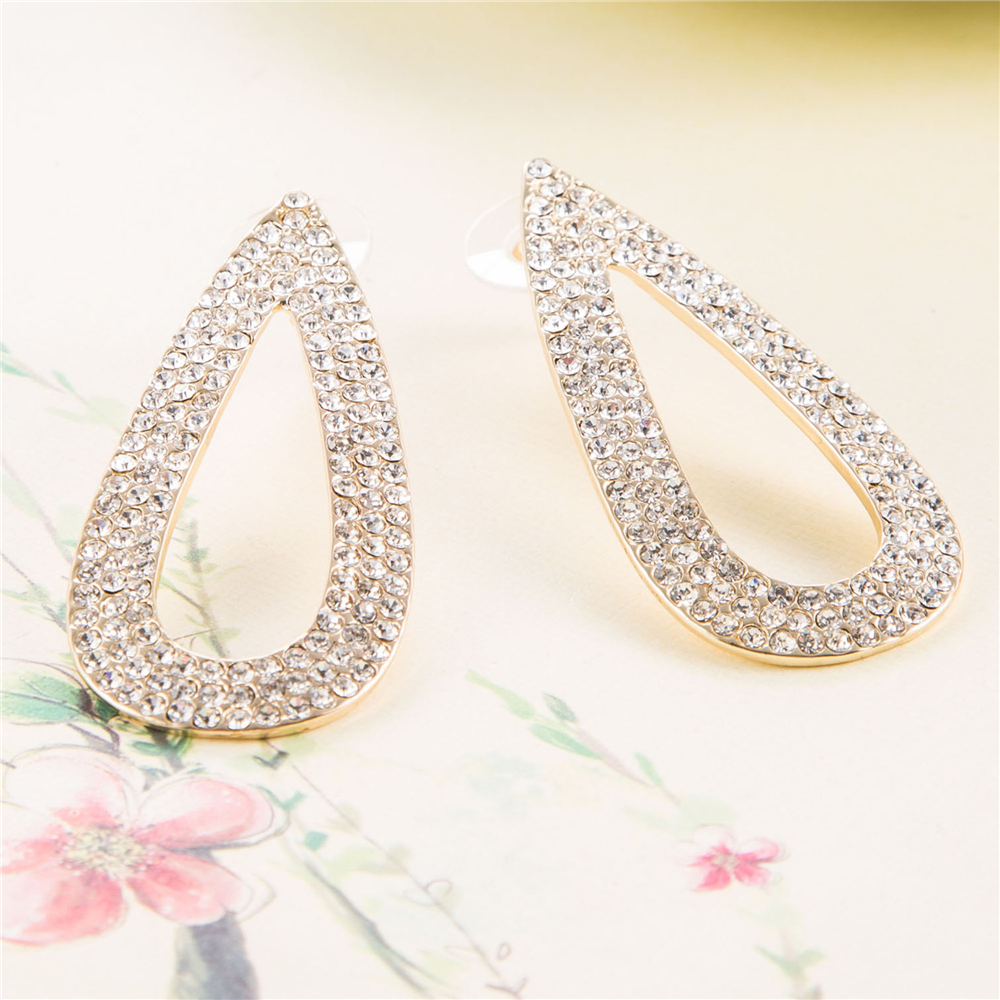 earring bridal earrings round bridesmaid antique angelina cz bride