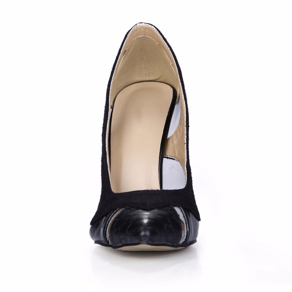 Zapatos De Mujer 2019 New Women Mujer Pointed Toe Transparent Hollow Out Prom Heels High Heel Shoes For Ladies Pumps 0640 23a in Women 39 s Pumps from Shoes