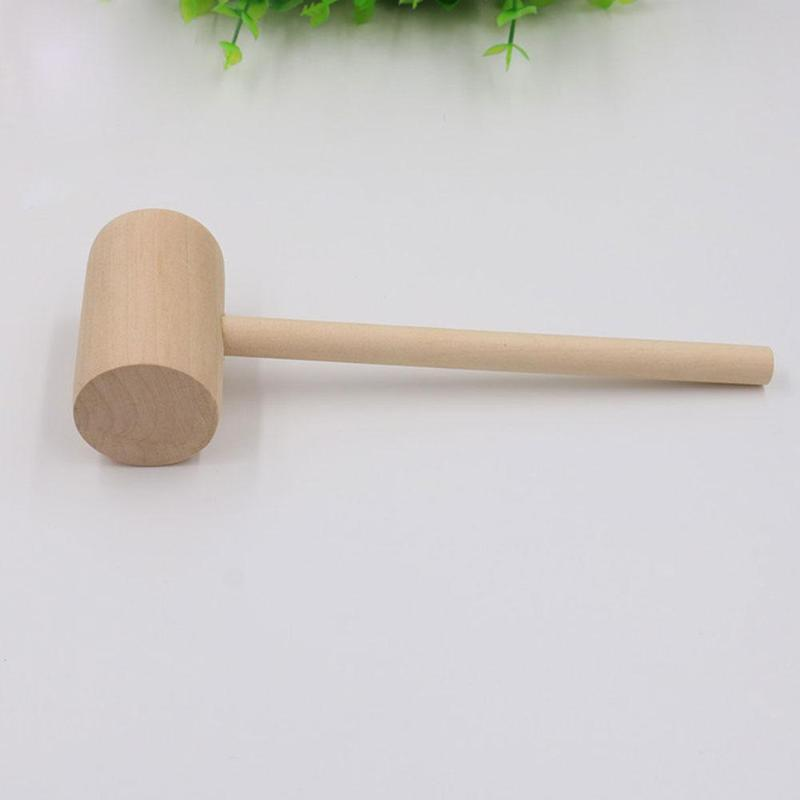 10Pcs Wooden Hammer Wood Mallets Small for Seafood Lobster Crackers Lot