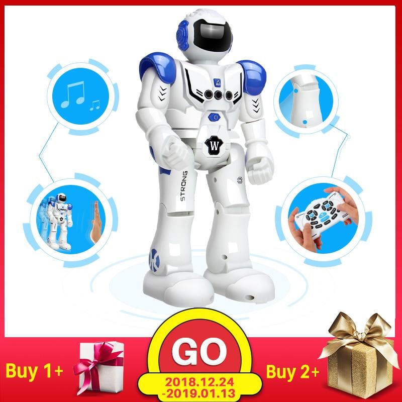DODOELEPHANT Roboter USB Lade Tanzen Geste Action Figur Spielzeug Roboter Control RC Roboter Spielzeug für Jungen Kinder Geburtstag Geschenk