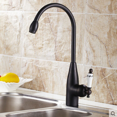 High Quality kitchen faucet antique black brass hot and cold kitchen mixer sink mixer tap wash basin faucet oil rubbed bronze kemaidi high quality brass morden kitchen faucet mixer tap bathroom sink hot and cold torneira de cozinha with two function