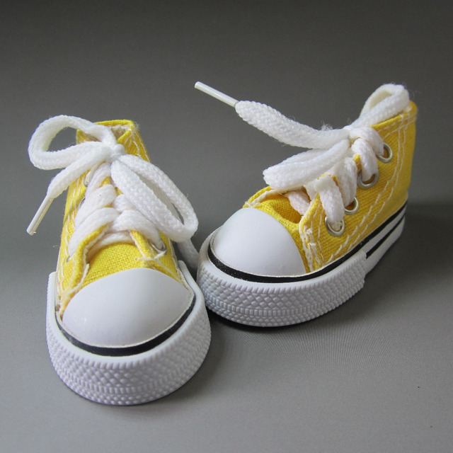 7.5cm Fashion Canvas Shoes For dolls fits 1/3 1/4 BJD Doll ,16 Inch Sharon doll Accessories