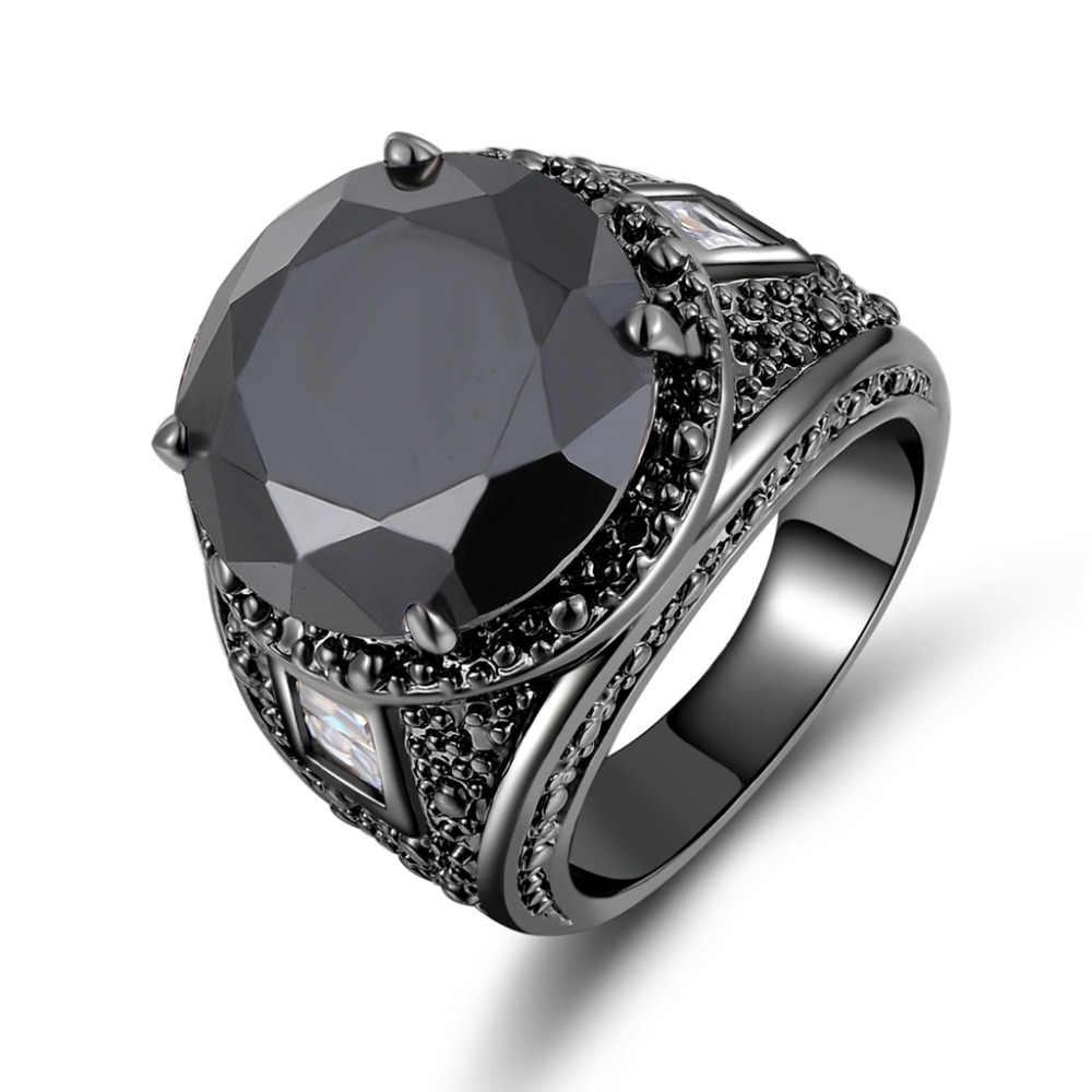 Кольца унисекс с камнем