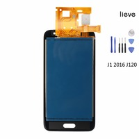 LCD Digitizer Assembly for Samsung Galaxy J120 J1 2016 Display Screen Replacement with Free Shipping