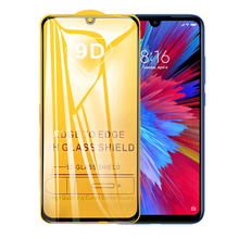 9D Curved Full Cover Screen Protector For Xiaomi Redmi Note 7 Note 7 Pro Redmi 7 Tempered Protective Glass Redmi Note 7 Pro tempered glass for xiaomi redmi note 3 pro se official global 152 special edition international version screen protective cover
