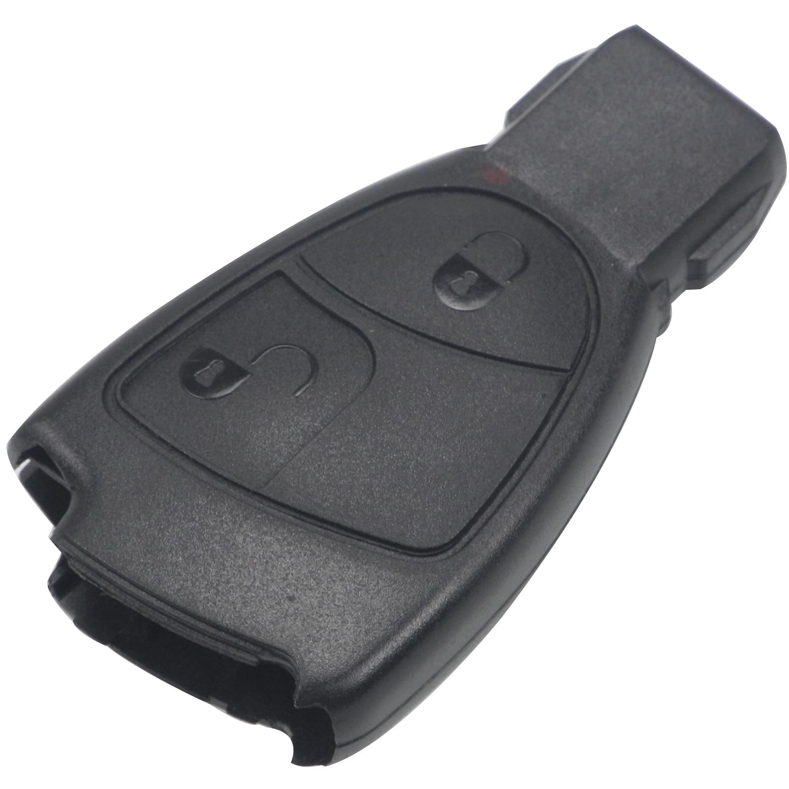 Jingyuqin 2 Button Remote Smart Car Key Shell Case Fob For
