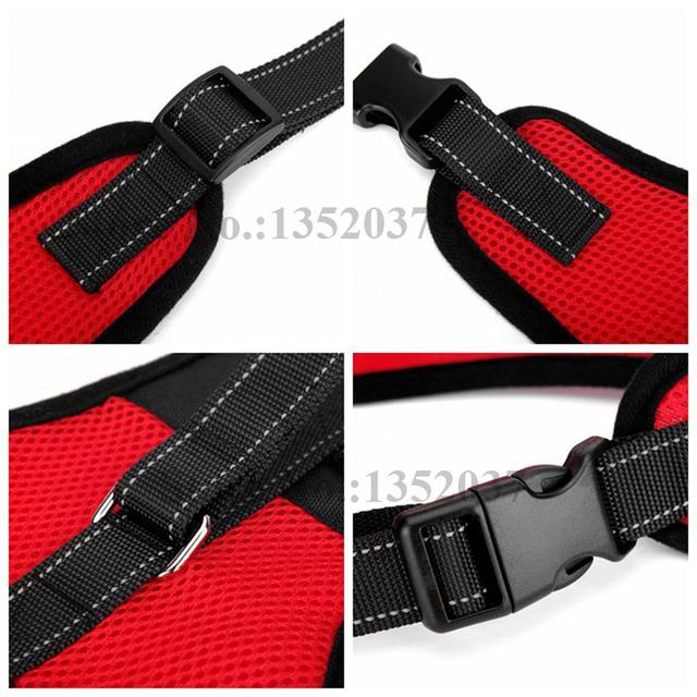 Dog K9 collar harness