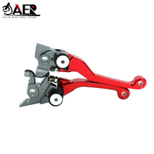 JAER Motorcycle Brake Clutch Lever Dirt bike Pivot Lever For Honda CRF250R CRF450R 2007 2019 CRF250RX CRF450RX Handle Levers
