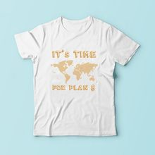 7594d74320af It is Time for Plan B bitcoin tee shirt homme 2018 new white casual tshirt  homme short sleeve o-neck plus size t Shirt BTC