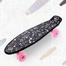 22inch Board Sticker Skateboard Sticker Solid/Printed Anti slip Waterproof Adhesive Single Rocker Sandpaper for Penny Board