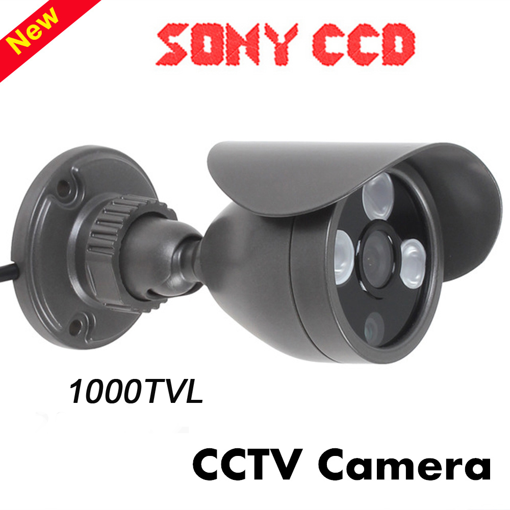 Home Security Camera 1000TVL Color CCTV Camera System IR Cut Day/Night Vision Outdoor Waterproof Bullet Camera cctv surveillance