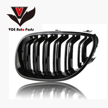2004-2009 Kidney Shape ABS Plastic Gloss Black Auto Car E60 M5 Style Front Racing Grill Grille for BMW E60 5 Series