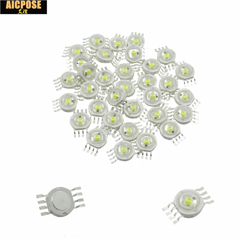 50pcs/lots 12W RGBW 4IN1 led lamp beads stage lighting special LED light bead for 7x12w 12x12w 18x12w 24x12w Led Par Lights50pcs/lots 12W RGBW 4IN1 led lamp beads stage lighting special LED light bead for 7x12w 12x12w 18x12w 24x12w Led Par Lights