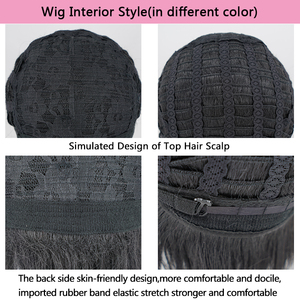 Image 5 - 【AniHut】Jabami Yumeko Wig Kakegurui Cosplay Wig Women Black 100cm Heat Resistant Synthetic Hair