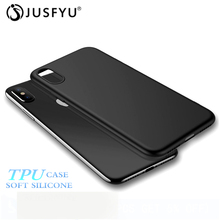 Soft TPU Case For iPhone 7 8 6S Plus 6 5 S Cover Ultra-thin Case Cover For iPhone X XS Max XR Anti-fingerprint Comfortable Touch matte anti fingerprint soft tpu case for iphone 6s 6 4 7 inch black