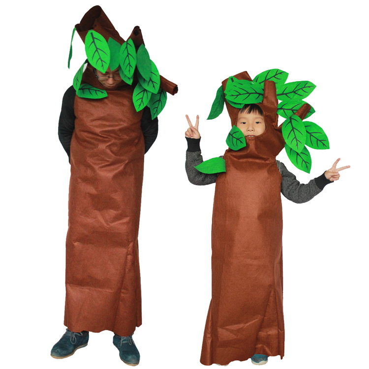 hot de halloween verde rboles cosplay fiesta de disfraces disfraces para nios material ambiental bien diseado