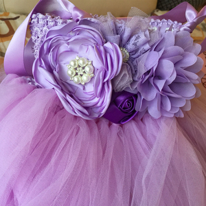 Image 5 - Çiçek kız Tutu elbise ayak bileği uzunlukta prenses tül çocuklar Tutu kızlar için elbiseler düğün parti elbise çocuk Pageant balo elbisesi