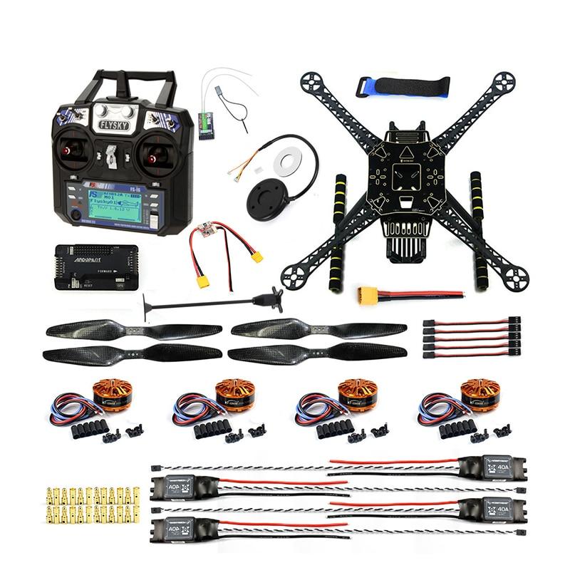 DIY FPV Drone ARF W / FS-I6 TX RX S600 4 осьті - Қашықтан басқару пульті бар ойыншықтар - фото 1
