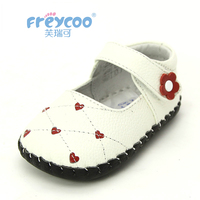 Freycoo 2018 New Spring Newborn Baby Girls First Walkers Shoes Infant Toddler Soft Sole Anti slip Baby Shoes Kids Girl Princess