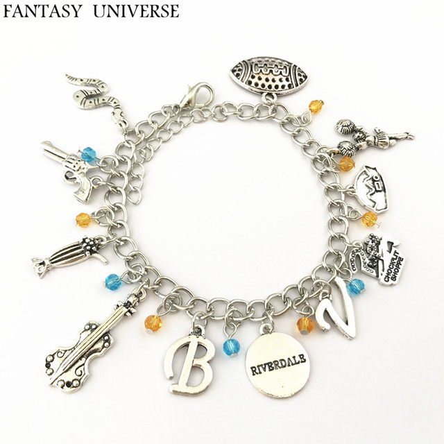 Fantasy Universe Freeshipping 1pc A Lot Riverdale Charm Bracelet Dsofsdj06