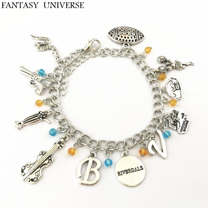 FANTASY UNIVERSE Freeshipping 1pc a lot Riverdale charm bracelet DSOFSDJ06