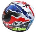Casco Arai RX 7 RR5 Doohan Motocicleta casco Carrera casco Racing casco de la cara Llena