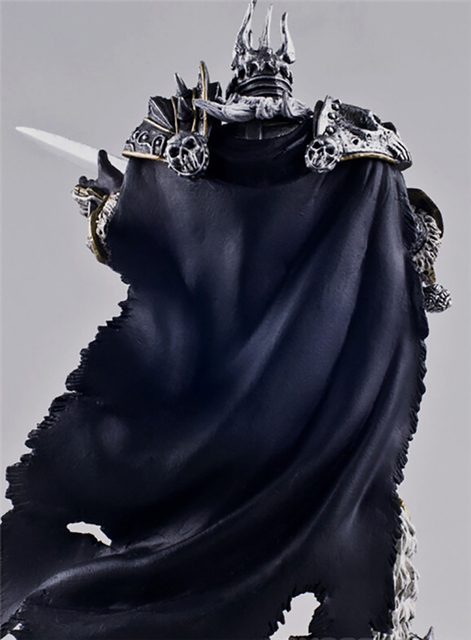wow Lich King Arthas Death Knight  PVC Action Figure Collectible Model Toy  2