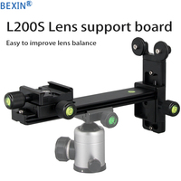 L 200S BEXIN Telephoto Lens support Quick release board Plate For Arca Swiss standard 1/4 Screw adapter for Camera Tripod