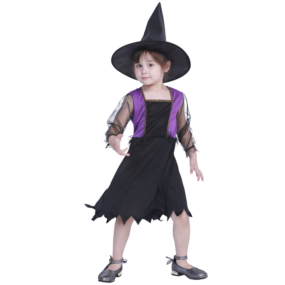 Halloween Carnival Party cosplay wizard devil vampire ghost elf dress / hat children suit girl kids costumes
