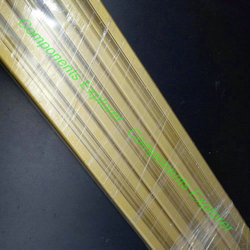 Beliebige Schneiden 1000mm 2020 Gold Aluminium Extrusion Profil, Gold Farbe.