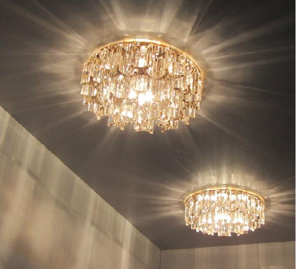 3w Crystal Led Hallway Ceiling Light Wall Lighting Indoor