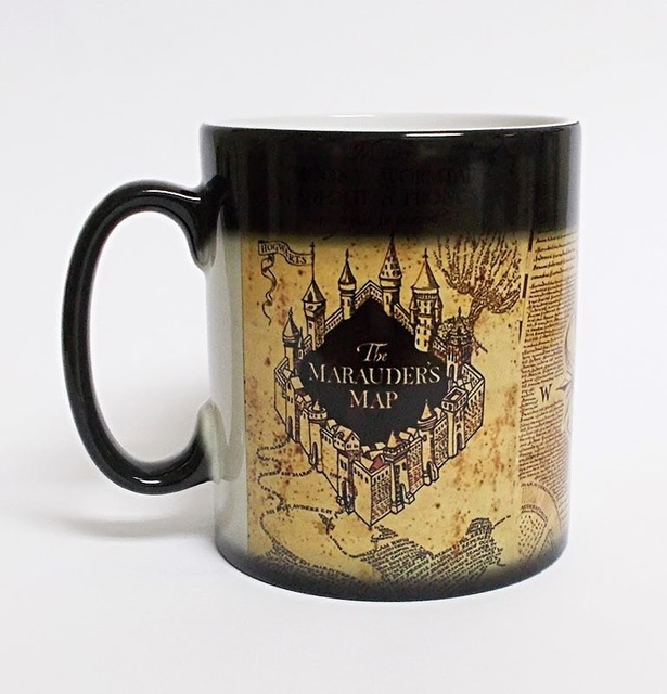 New Harry Potter Coffee Mug Color Changing Tea Milk Cup Heat Reactive Ceramic Drinkware Gift