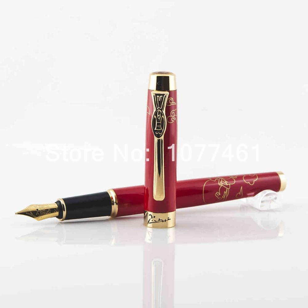 цены Picasso fountain pen picasso 933 pure black gift fountain pen pimio calligraphy gold fountain pen