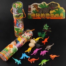 HOT 12pcs/set Kids Imaginative Dinosaur Toy 6cm PVC Action Figure Toys Learning Resources for Toddlers цена