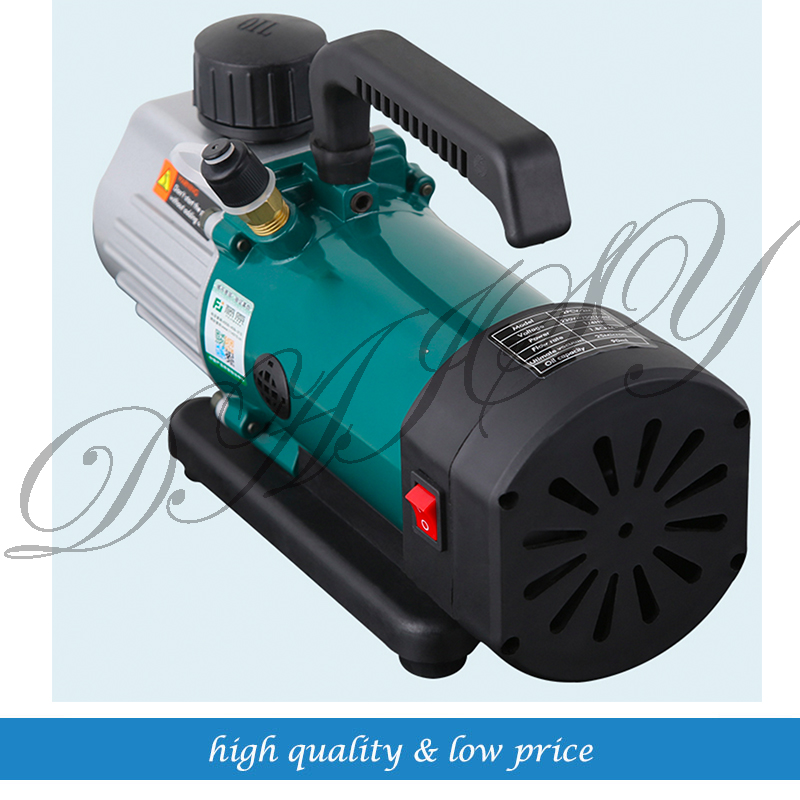 2PCV-2M 50L/MIN Double Stage Refrigerated Rotary Vane Vacuum Pump 4cfm 2016 dual stage rotary vane vacuum pump