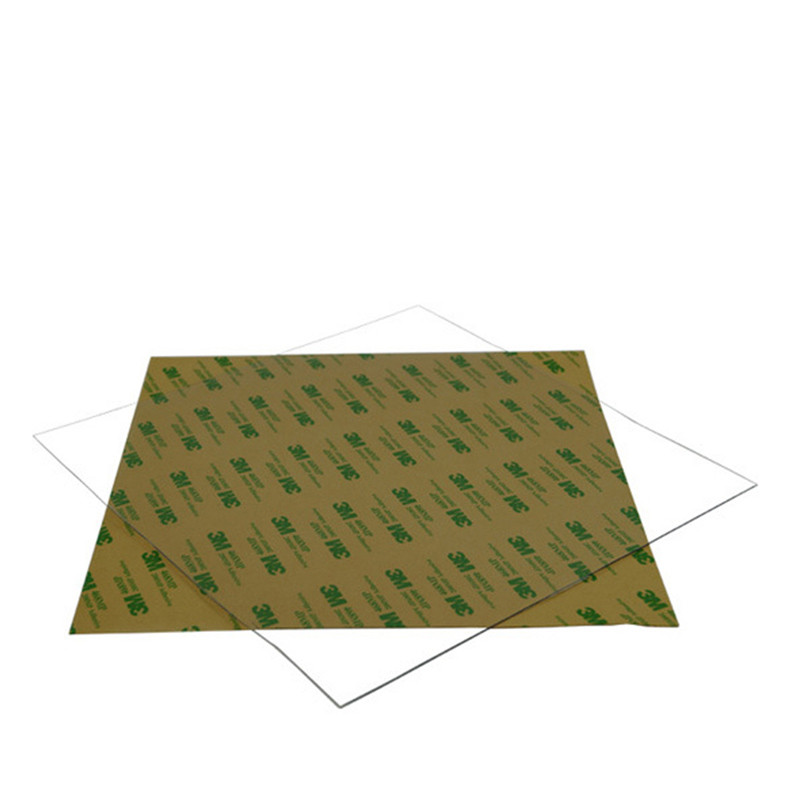 Blurolls 3D Printer Build Surface Polyetherimide Ultem PEI Sheet 220 220 0 2mm For Reprap Prusa