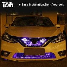 Tcart пульт дистанционного управления RGB со светодиодной лентой сканирующий Knight Rider светодиодный стробоскопический светильник 147 сменная модель для Nissan sentra b17 2012 2013