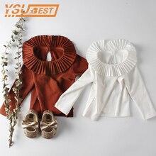 Long-Sleeve Baby-Girl Shirts Toddler Cotton O-Neck Autumn Kids Brand