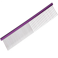 Pet Supplies Stainless Steel Pet Dog Combs Long Thick Hair Fur Removal Puppy Hair Trimmer Brush