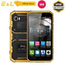 E L W9 Waterproof Smartphone Inch 4G IPS Full HD Mobile Phone Octa Core 4000mAh IP68