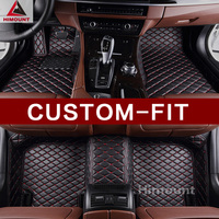 Custom fit car floor mat for Cadillac Escalade ATS CTS CTS V CT6 SRX XTS XT5 SLS all weather full cover heavy duty leather liner